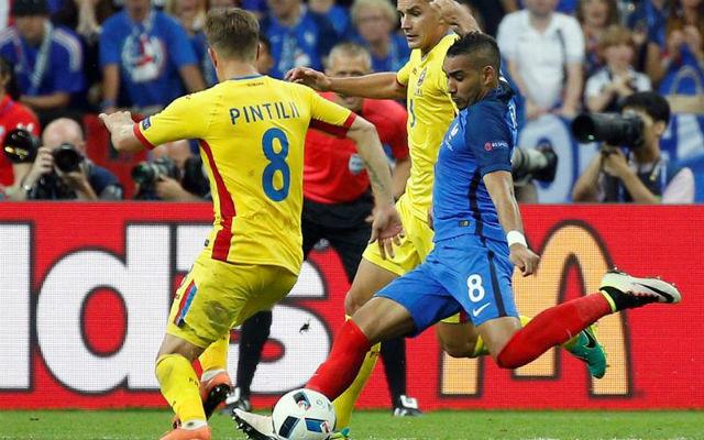 Francia, 1 - Rumania, 0