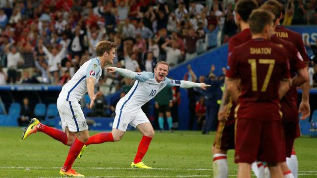 Inglaterra, 1 - Rusia, 1
