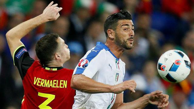 Italia, 2 - Bélgica, 0