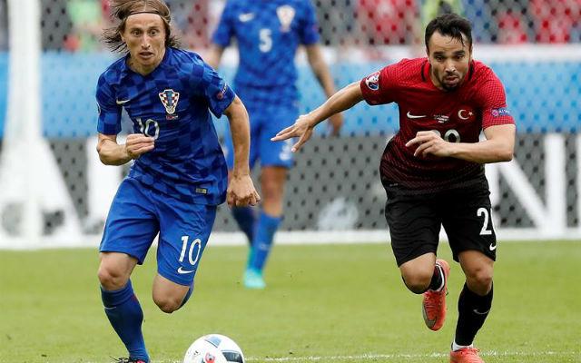 Croacia, 1 - Turquía, 0
