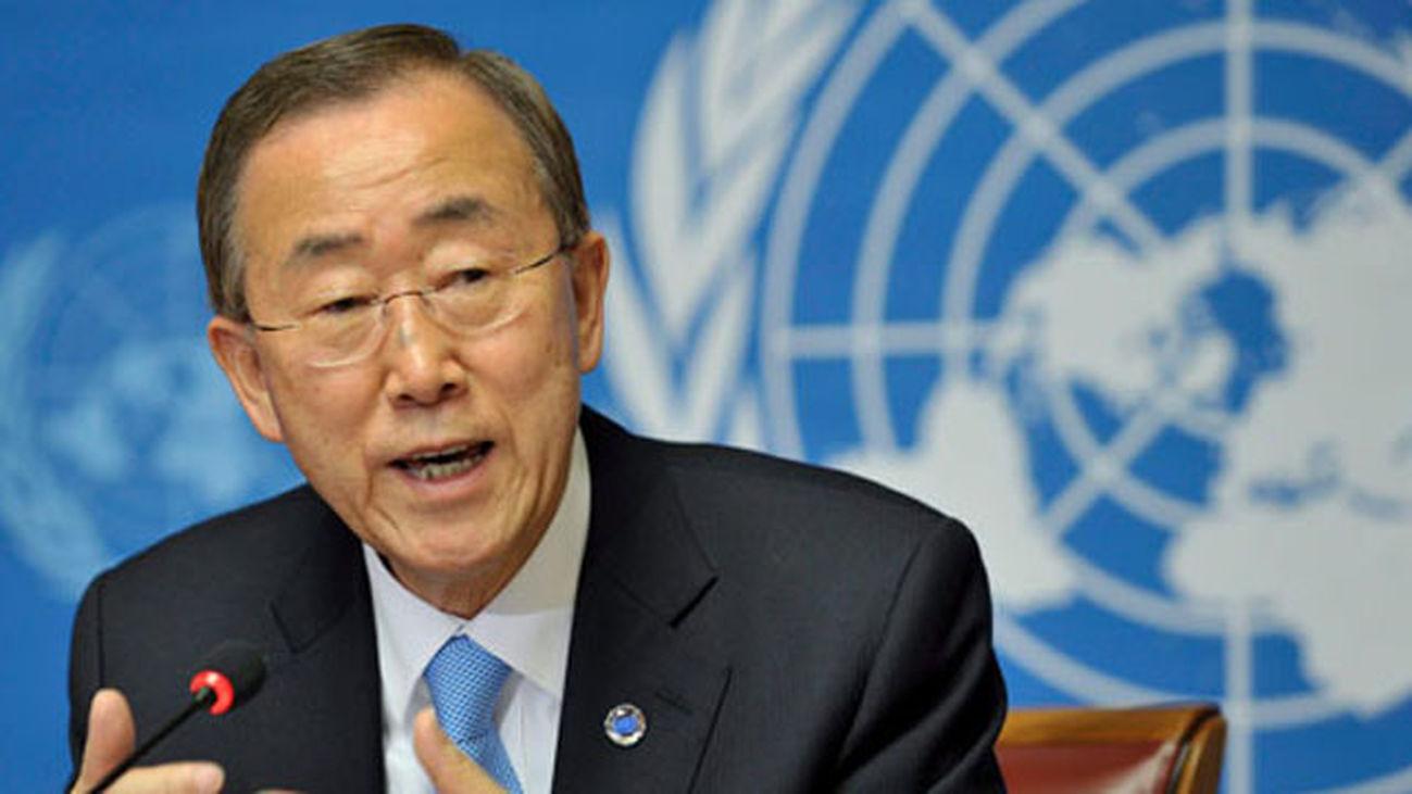 """Ban Ki-moon visita Lesbos y agradece a Grecia su """"solidaridad"""" con refugiados"""