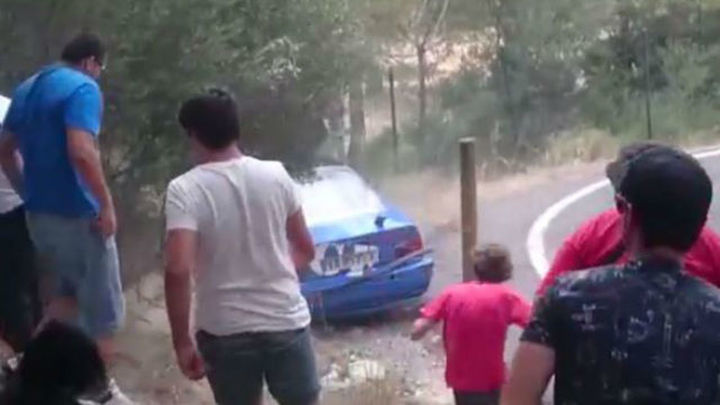 Cuatro heridos muy graves en un rally en Mallorca