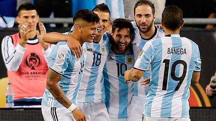4-1. Argentina liquida a Venezuela y se meten en semifinales