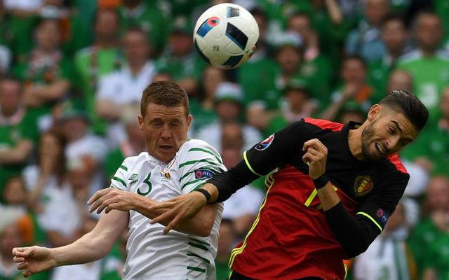 Bélgica, 3 - Irlanda, 0