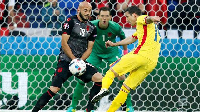 Rumania, 0 - Albania, 1