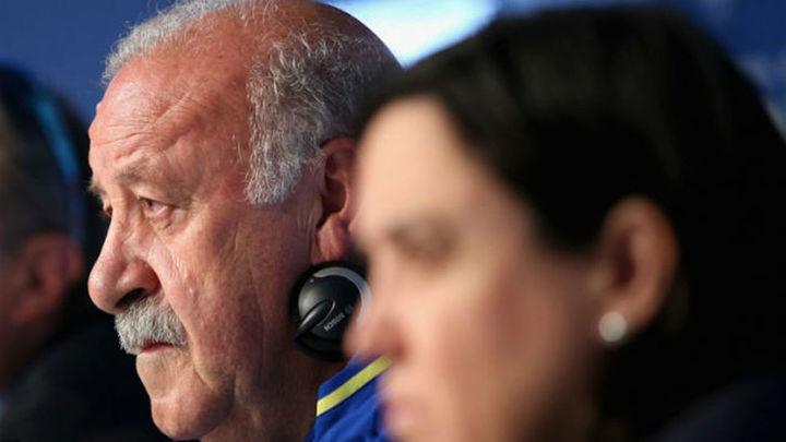 """Del Bosque disculpa a Pedro: """"Le traicionado el subconsciente"""""""