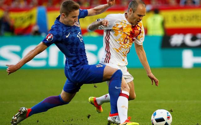 Croacia, 2 - España, 1