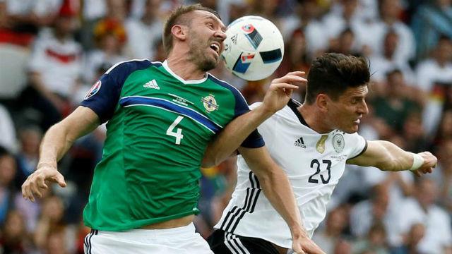 Irlanda del Norte, 0 - Alemania, 1