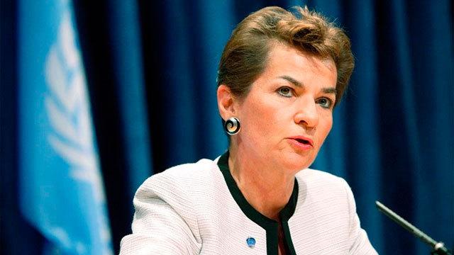 Christiana Figueres, secretaria ejecutiva de UNFCCC.