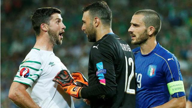 Italia, 0 - Irlanda, 1