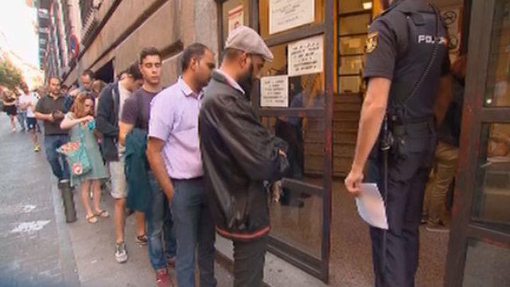 La renovación del DNI colapsa algunas comisarías madrileñas