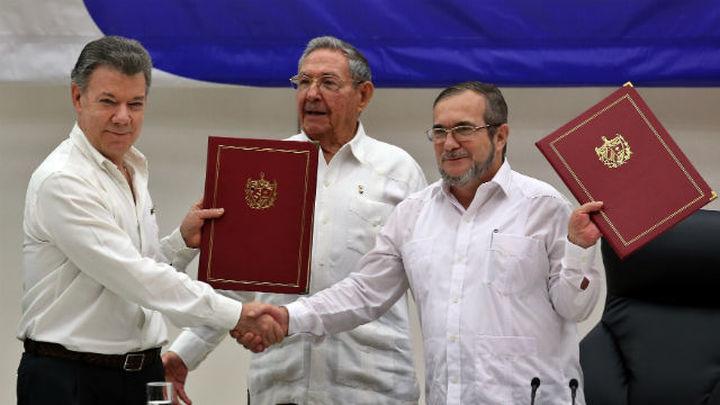 El Gobierno colombiano anuncia que concluye el acuerdo de paz con las FARC