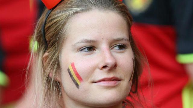 Aficionada belga