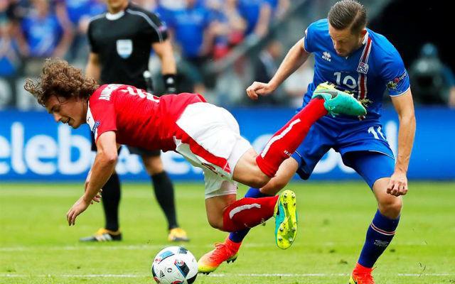 Islandia, 2 - Austria, 1