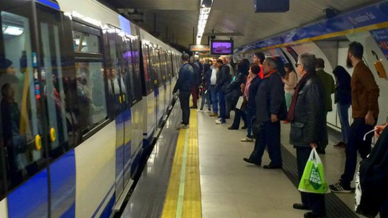 Nuevos paros en el metro de 19 horas a 22 horas