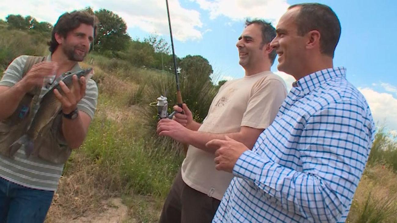 Villamantilla: Un día de pesca en el río Perales