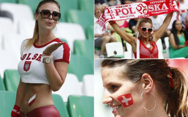 Aficionadas polacas y suizas
