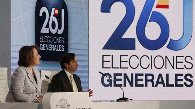 36,5 millones de  españoles llamados a las urnas