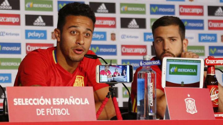 "Thiago: ""Nos va a costar ganar ante Italia"""