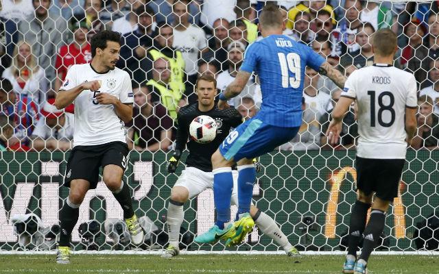 Alemania, 3 - Eslovaquia, 0