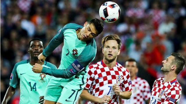 Croacia, 0 - Portugal, 1