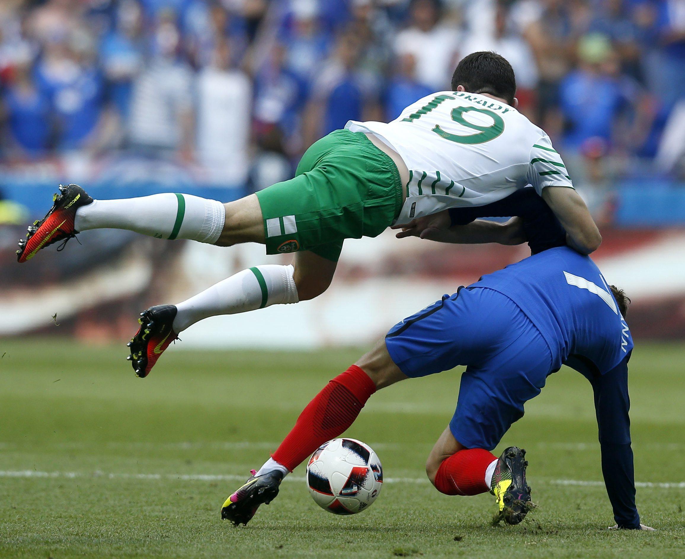 Francia, 2 - Irlanda, 1