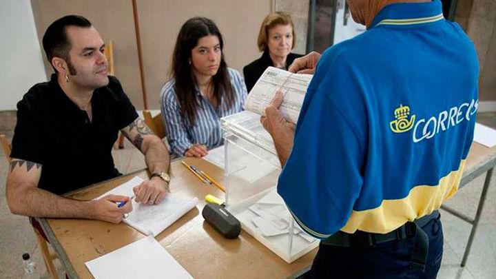 1,3 millones de electores han votado por correo