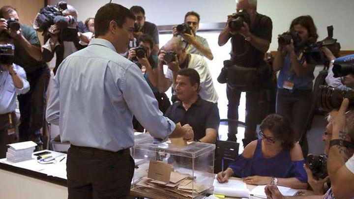 """Sánchez anima a votar para que el gobierno tenga la """"máxima legitimidad"""""""