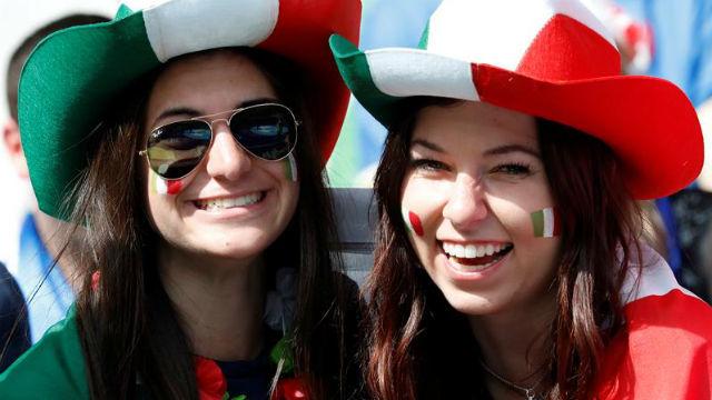 Aficionadas italianas