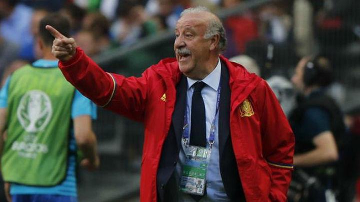 """Del Bosque: """"Tenemos que aceptar la derrota y mirar hacia arriba"""""""
