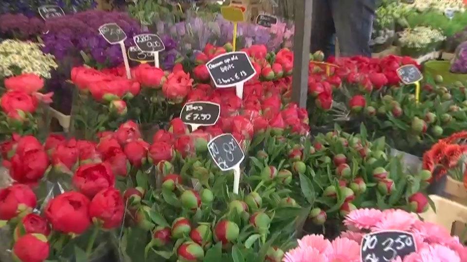 En Utrecht los hay textiles, de las flores, de alimentación...