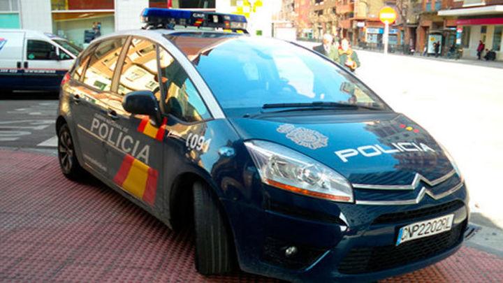 La Policía Nacional detiene en Madrid 'in fraganti' a un atracador de farmacias