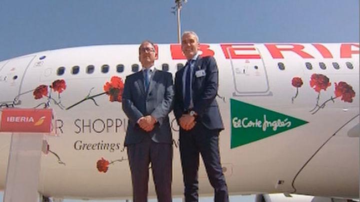 Iberia estrena el primer vuelo a China en toda su historia
