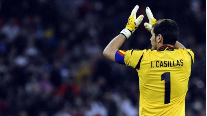 Casillas insinúa su adiós de la selección
