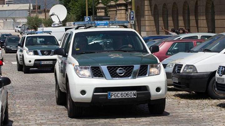 Heridos cinco guardias civiles en Jaén tras saltarse un control de tráfico un coche