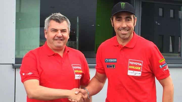 Nani Roma será piloto de Toyota en el Dakar 2017