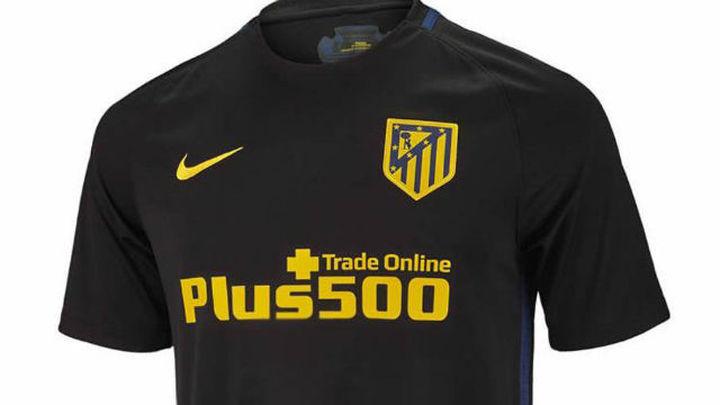 La segunda camiseta del Atlético 16/17 será negra
