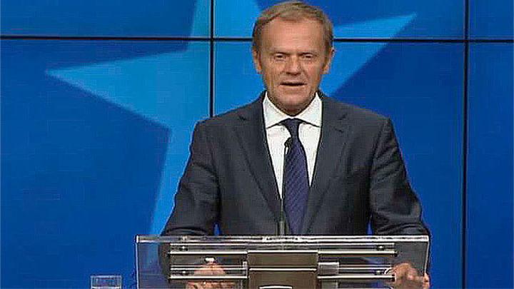 Tusk reelegido como presidente del Consejo Europeo