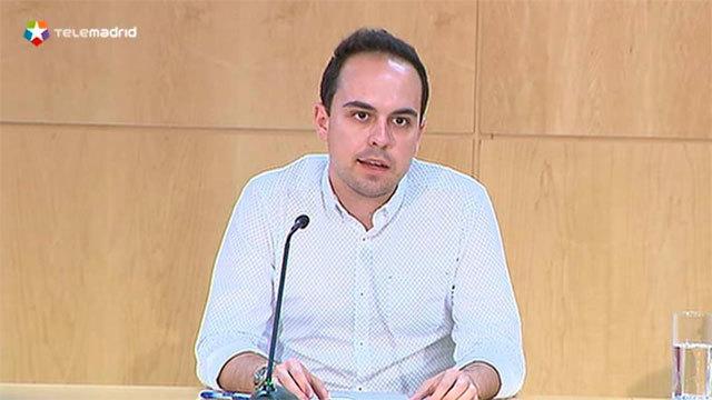 José Manuel Calvo, delegado del Área de Gobierno de Desarrollo Urbano Sostenible del Ayuntamiento