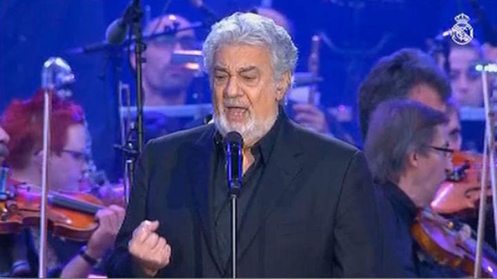 Plácido Domingo, homenaje y noche mágica en el Bernabeu