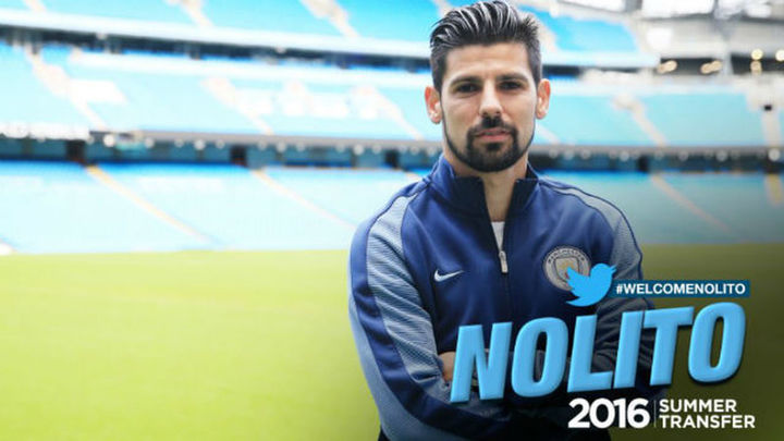 Nolito ficha por el Manchester City de Guardiola