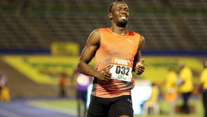Usain Bolt se lesiona a un mes de los Juegos Olímpicos