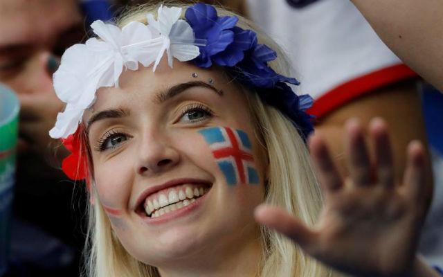 Aficionada islandesa