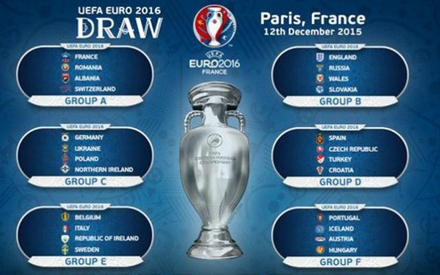 Primera fase Eurocopa 2016