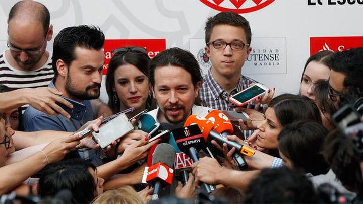 """Iglesias: """"Nunca me he sentido tan apoyado en Podemos como ahora"""""""