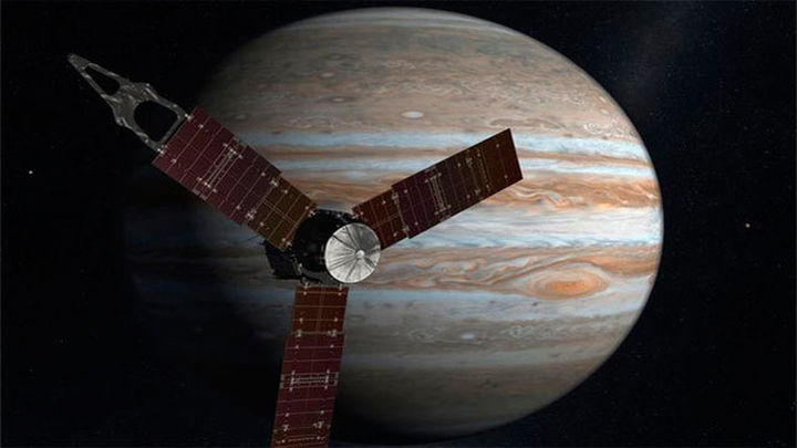 La nave Juno llega a Júpiter tras casi cinco años de viaje