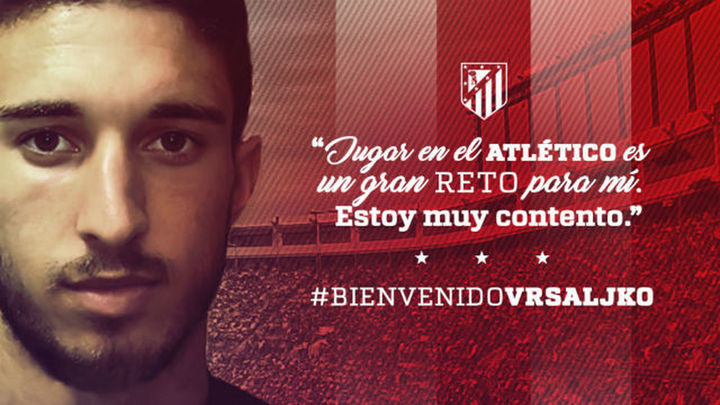 Vrsaljko firma cinco años con el Atlético de Madrid
