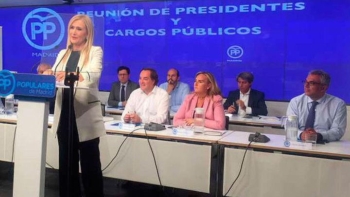 El PP de Madrid celebrará  su Congreso del 17 a 19 de marzo