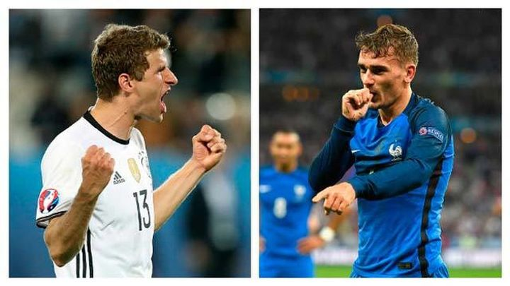 Francia ante la máquina alemana, por un puesto en la final