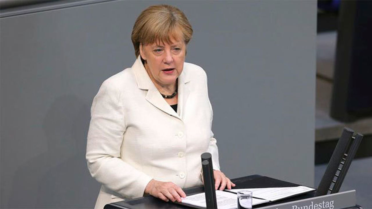 La Canciller alemana, Angel Merkel